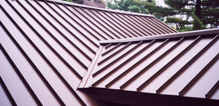 Standing Seam Metal Roofs The Basics Horizonline Roofing